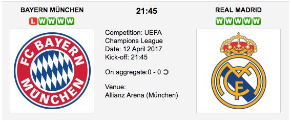 Bayern München v Real Madrid