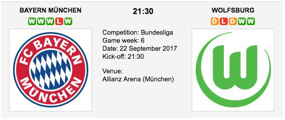 FC Bayern Munich v VfL Wolfsburg - Bundesliga: Preview and Tips