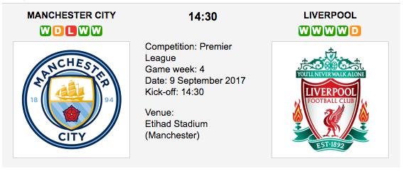 Man City vs. Liverpool - Premier League Preview & Tips