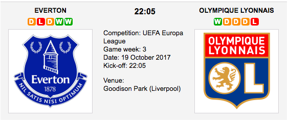 Everton vs Lyon - Europa League Preview