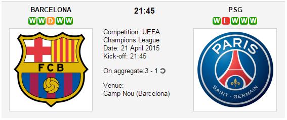 Barcelona vs. PSG: Champions League Betting Tips