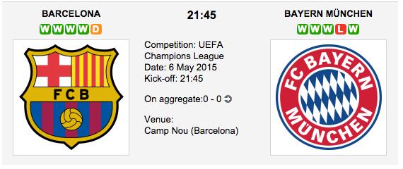 Barcelona vs. Bayern Munich: Champions League Betting Tips