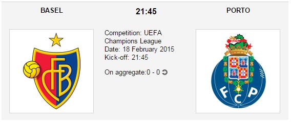 Basel vs. Porto