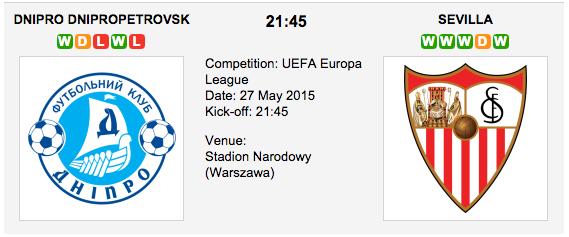 Dnipro vs. Sevilla: Europa League Preview
