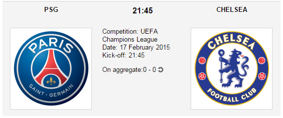 PSG vs. Chelsea