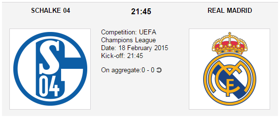 Schalke 04 vs. Real Madrid - Champions League Preview