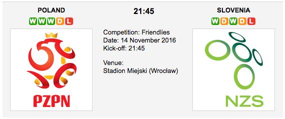 Poland vs. Slovenia: Friendly Match Preview