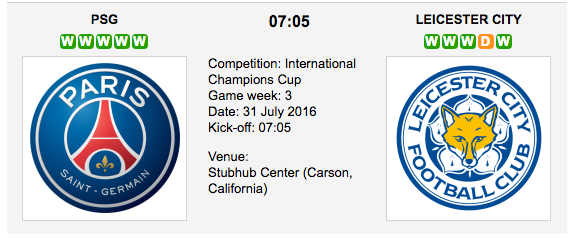 PSG vs Leicester: Int. Champіons Cup