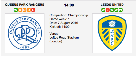 QPR vs Leeds: Preview